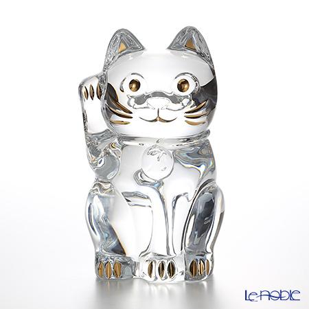バカラ(Baccarat) オブジェ 2-803-413 まねき猫 25cm