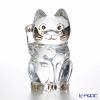 バカラ(Baccarat) オブジェ 2-803-413まねき猫 25cm