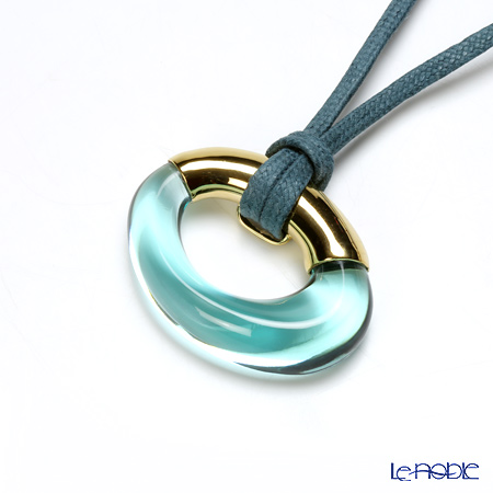 Baccarat Galea Ring Pendant, turquoise 2-805-650