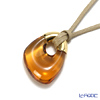 Baccarat 'Galea' Honey Yellow / Gold 2805657 Pendant