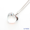 Baccarat 'Romance (Heart)' Clear mirror 2807149 Necklace (S)
