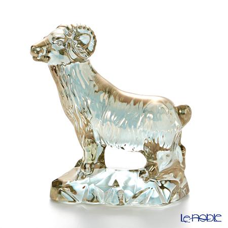 バカラ(Baccarat) オブジェ 2-807-703 羊(干支 2015 未) ゴールド
