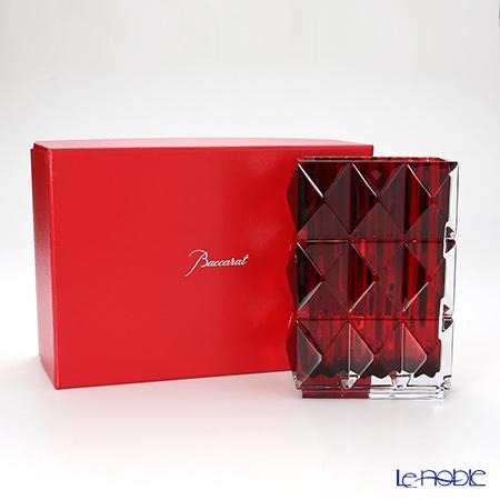 バカラ(Baccarat) ルクソール 2-808-408 ベース(花瓶) レッド 20cm