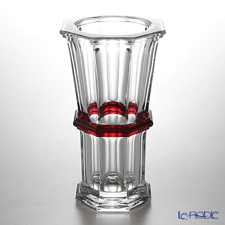 バカラ(Baccarat) アルクール 2-809-144 ストレートベース(花瓶) 32cm レッド