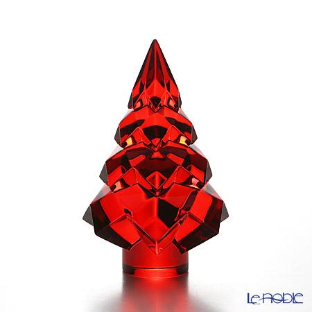 Baccarat Noel Fir Tree Megève, red 2-809-178