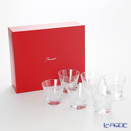 Baccarat Everyday 6 tumblers, 6 patterns. 2-809-854
