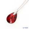 Baccarat 'Psydelic' Iridescent Red / Silver 2809925 Necklace (XS)