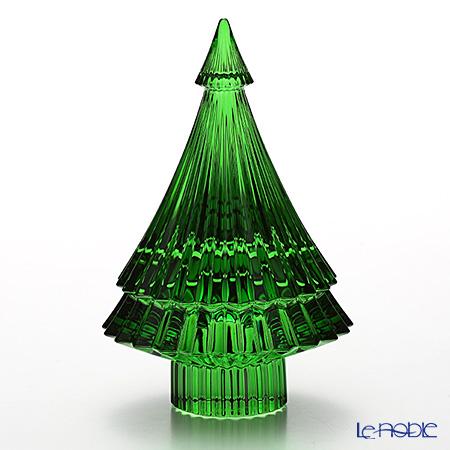 バカラ(Baccarat) オブジェ 2-810-271クリスマスツリー グリーン