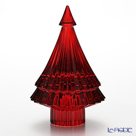 バカラ(Baccarat) オブジェ 2-810-273 クリスマスツリー レッド