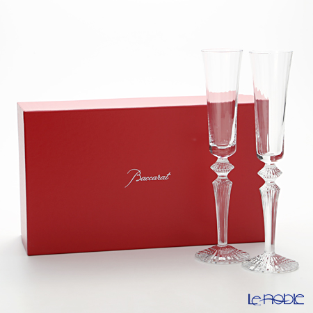 Baccarat 'Mille Nuits' Clear 2810597 Flutissimo 170ml (set of 2)