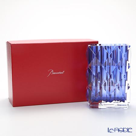 バカラ(Baccarat) ルクソール 2-811-094 ベース(花瓶) ブルー 20cm