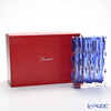 バカラ(Baccarat) ルクソール 2-811-094ベース(花瓶) ブルー 20cm