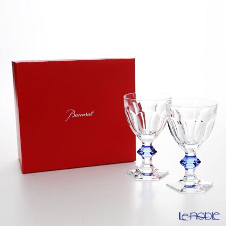 バカラ(Baccarat) アルクール 2-811-102 グラス ブルーボタン(ラッカージュ仕上げ) ペア