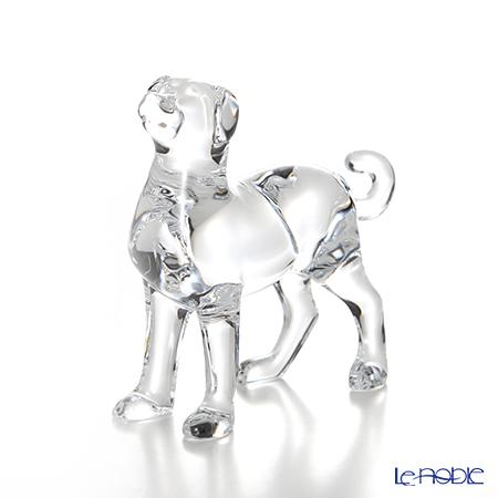 Baccarat 'Zodiaque 2018 - Dog' Clear 2811187 Zodiac Animal Object H11cm