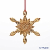Baccarat Baccarat art 2-811-191 Ornament snowflake gold 2017
