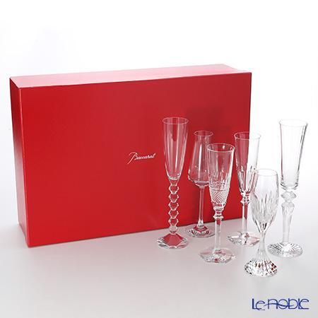 バカラ(Baccarat) カクテル 2-811-434 シャンパンフルート 6ピースセット