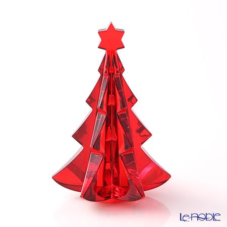 バカラ(Baccarat) オブジェ 2-811-542 メリベル クリスマスツリー レッド
