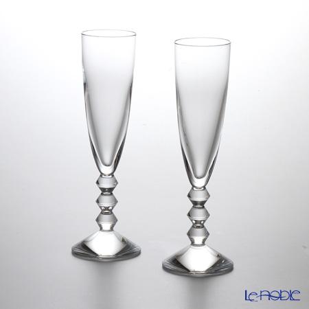バカラ(Baccarat) ベガ 2-811-801(1-365-109)シャンパンフルート 22.6cm ペア