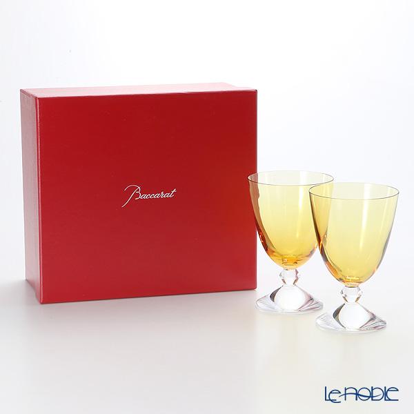 Baccarat 'Vega' Topaz Yellow 2812260/2103326 Small Glass 290ml (set of 2)