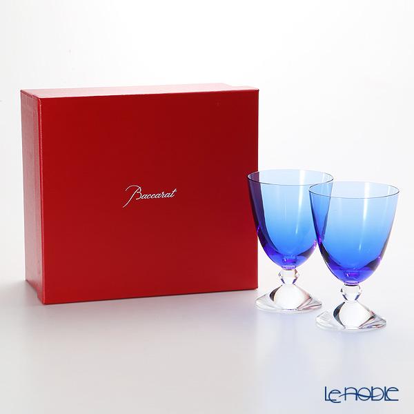 バカラ(Baccarat) ベガ 2-812-261(2-103-548) スモールグラス ブルー 14cm ペア