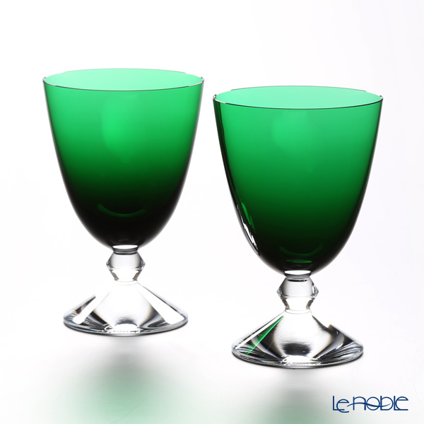 Baccarat 'Vega' Emerald Green 2812263/2103700) Small Glass 290ml (set of 2)