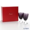 Baccarat Baccarat Vega 2-812-264 (2-103-327) Small glass Amethyst 14 cm pair