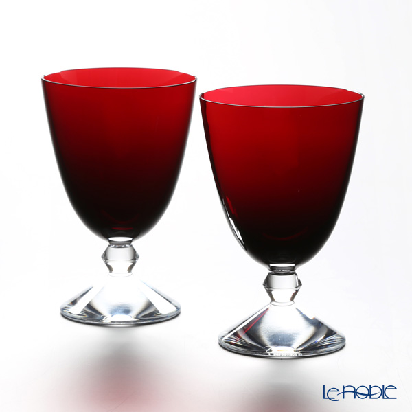 Baccarat 'Vega' Ruby Red 2812265/2103325 Small Glass 290ml (set of 2)