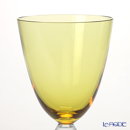 Baccarat 'Vega - Rhine' Amber Yellow 2812266/2100909 Wine Glass 220ml (set of 2)