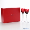 Baccarat 'Vega - Rhine' Red 2812270/2100907 Wine Glass 220ml (set of 2)