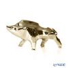 Baccarat 'Zodiaque 2019 - Boar' Gold 2812401 Zodiac Object H8cm