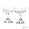 Baccarat 'Narcisse' 2812667 Champagne Coupe Glass H14cm (set of 2)