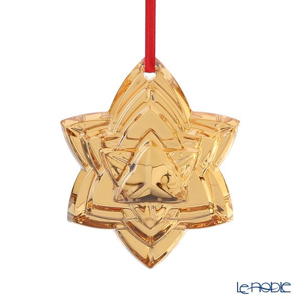 バカラ(Baccarat) オブジェ 2-812-732 クリスマスオーナメント ゴールド 2018
