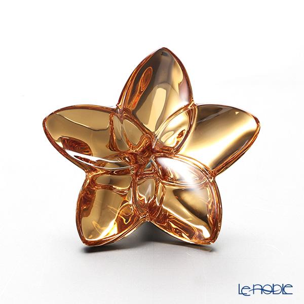 バカラ(Baccarat) オブジェ 2-813-017 ブルーム ゴールド9cm
