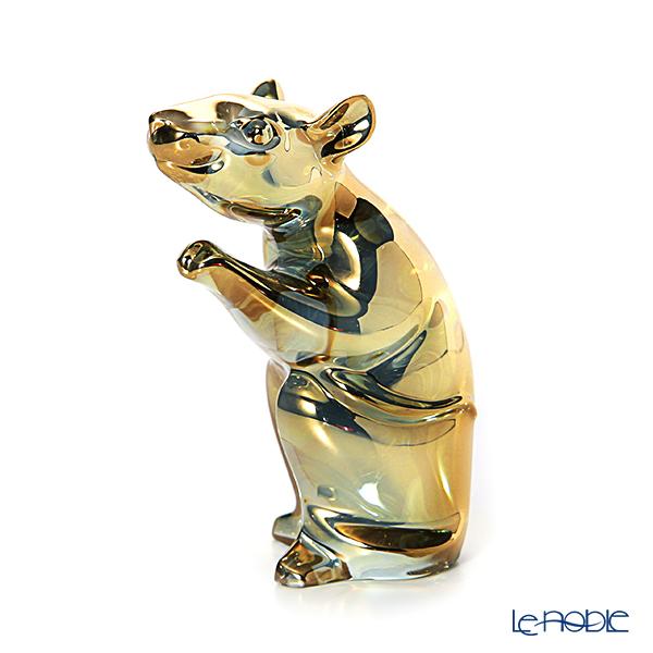 バカラ(Baccarat) オブジェ 2-813-062 子(干支2020) ゴールド