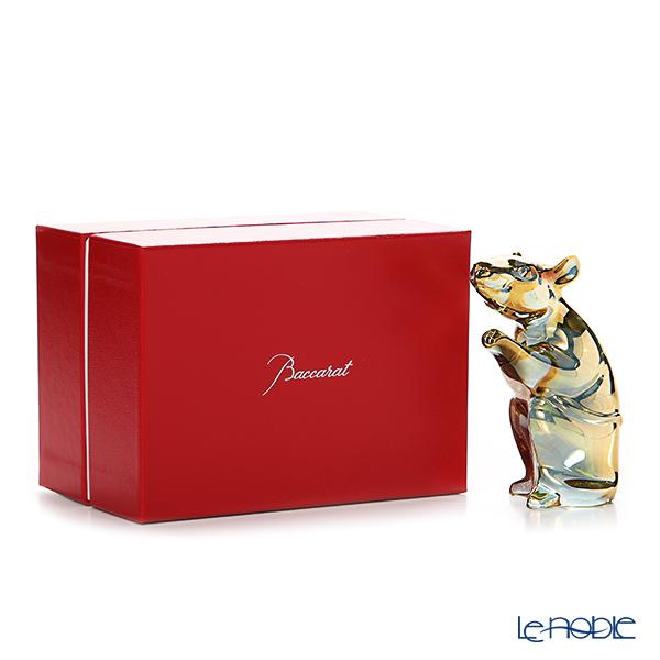 Baccarat 'Zodiaque 2020 - Mouse' Gold 2813062 Zodiac Object H10cm
