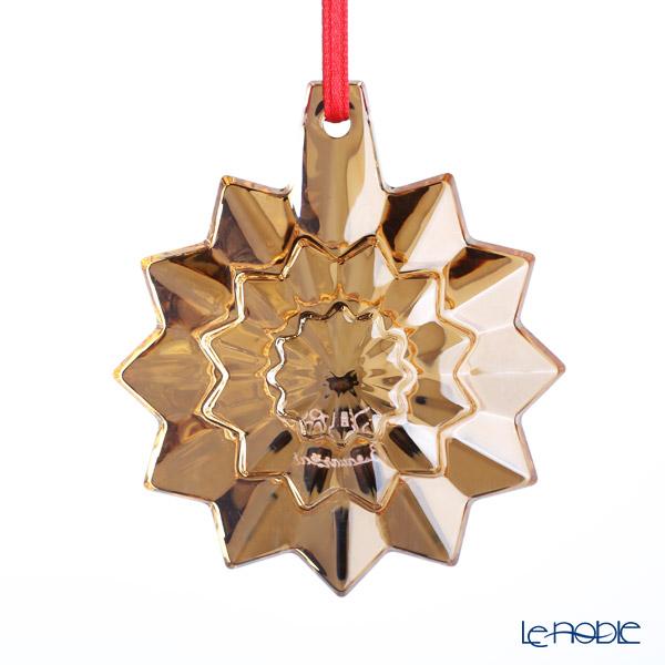 バカラ(Baccarat) オブジェ 2-813-068 クリスマスオーナメント ゴールド 2019