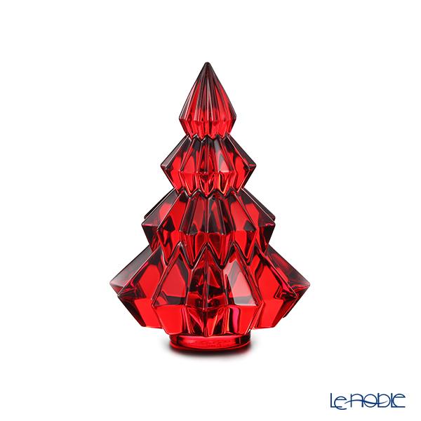 バカラ(Baccarat) オブジェ 2‐813‐074 クリスマスツリー アスペン レッド 13.4cm 19W