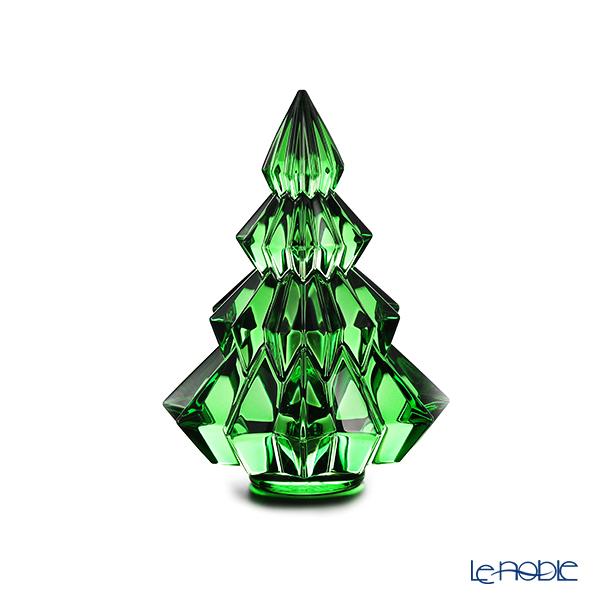 バカラ(Baccarat) オブジェ 2‐813‐076 クリスマスツリー アスペン グリーン 13.4cm 19W
