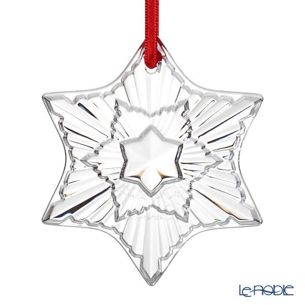 Bugatti 2020 Christmas Ornament Le noble   Baccarat 'Noel Collection 2020   Sun Clock' Clear
