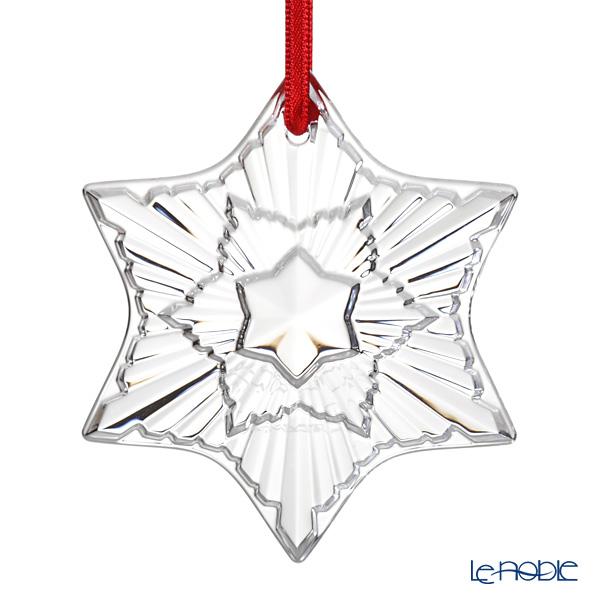 バカラ(Baccarat) オブジェ 2-813-874 クリスマスオーナメント クリア 2020