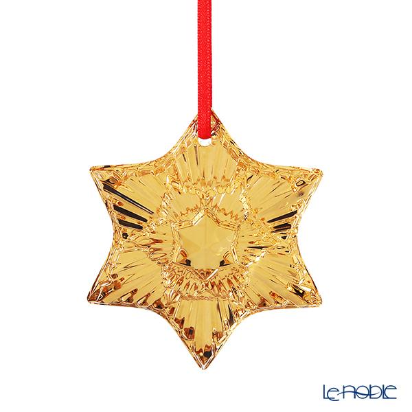 バカラ(Baccarat) オブジェ 2-813-875 クリスマスオーナメント ゴールド 2020