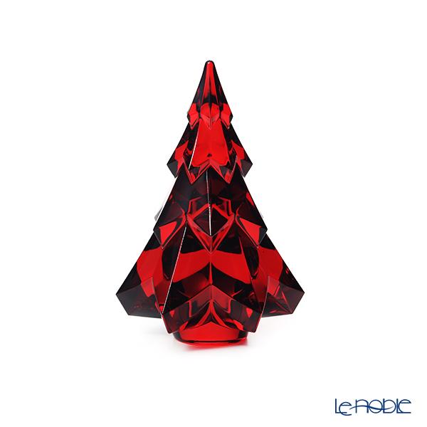 バカラ(Baccarat) オブジェ 2-813-877 グシュタード ツリー レッド 13.4cm 20W