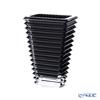Baccarat 'EYE' Black Lacquer 2814036 Vase H20cm (M)
