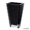 Baccarat 'EYE' Black Lacquer 2814037 Vase H29.5cm (L)