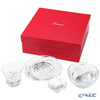 Baccarat Continental Set 2814069 'Swing' Plate, Bowl & 'Brava' OF Tumbler (set of 4pcs)