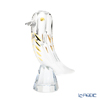 Baccarat 'Faunacrystopolis - Bird' Clear & Gold 2814455 Bud Vase H18cm