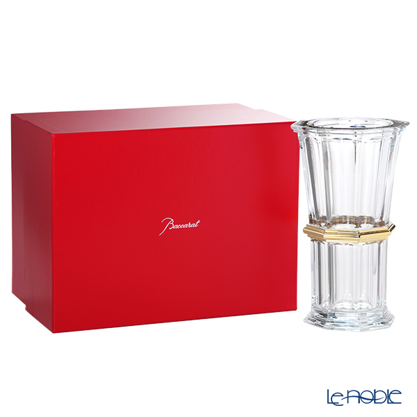 バカラ(Baccarat) アルクール 2-814-497 ストレートベース(花瓶) 32cm ゴールド