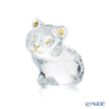 Baccarat 'Zodiaque 2022 - Minimals Tiger' Clear with Gold 2814560 Zodiac Animal Object H9cm