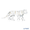 Baccarat 'Zodiaque 2022 - Tiger' Clear with Gold 2814611 Zodiac Animal Object H11cm