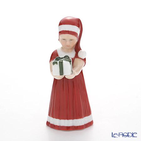 ロイヤルコペンハーゲン(Royal Copenhagen) フィギュリン(エルザとクリスマス) 赤い服のエルス(ギフト) 13cm 5021090